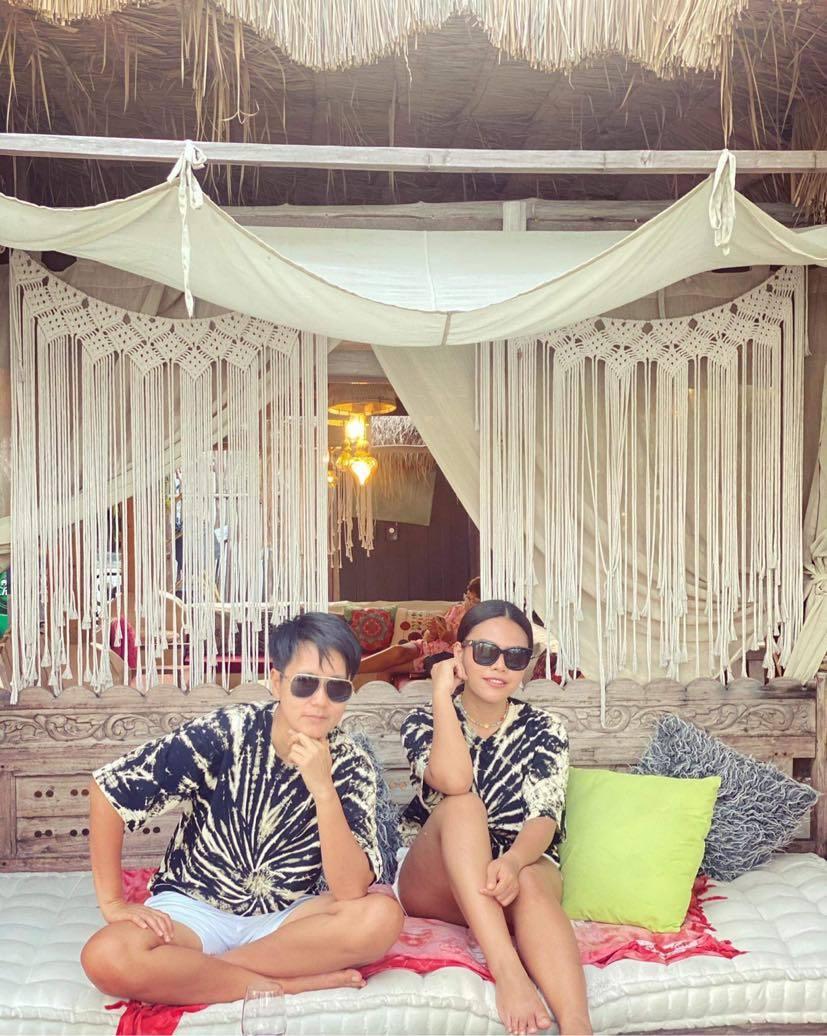 Beach Club La Bohemia Beach Lounge a Koh Samui