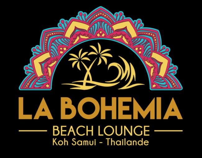 Logo La Bohemia Beach Lounge Koh Samui