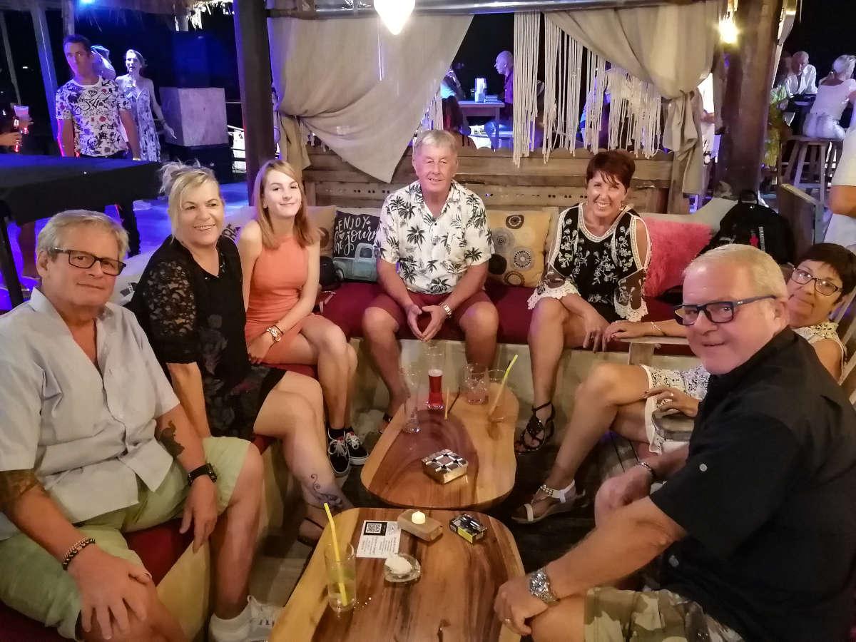 Anniversaire 2020 La Bohemia Beach Lounge, Koh Samui