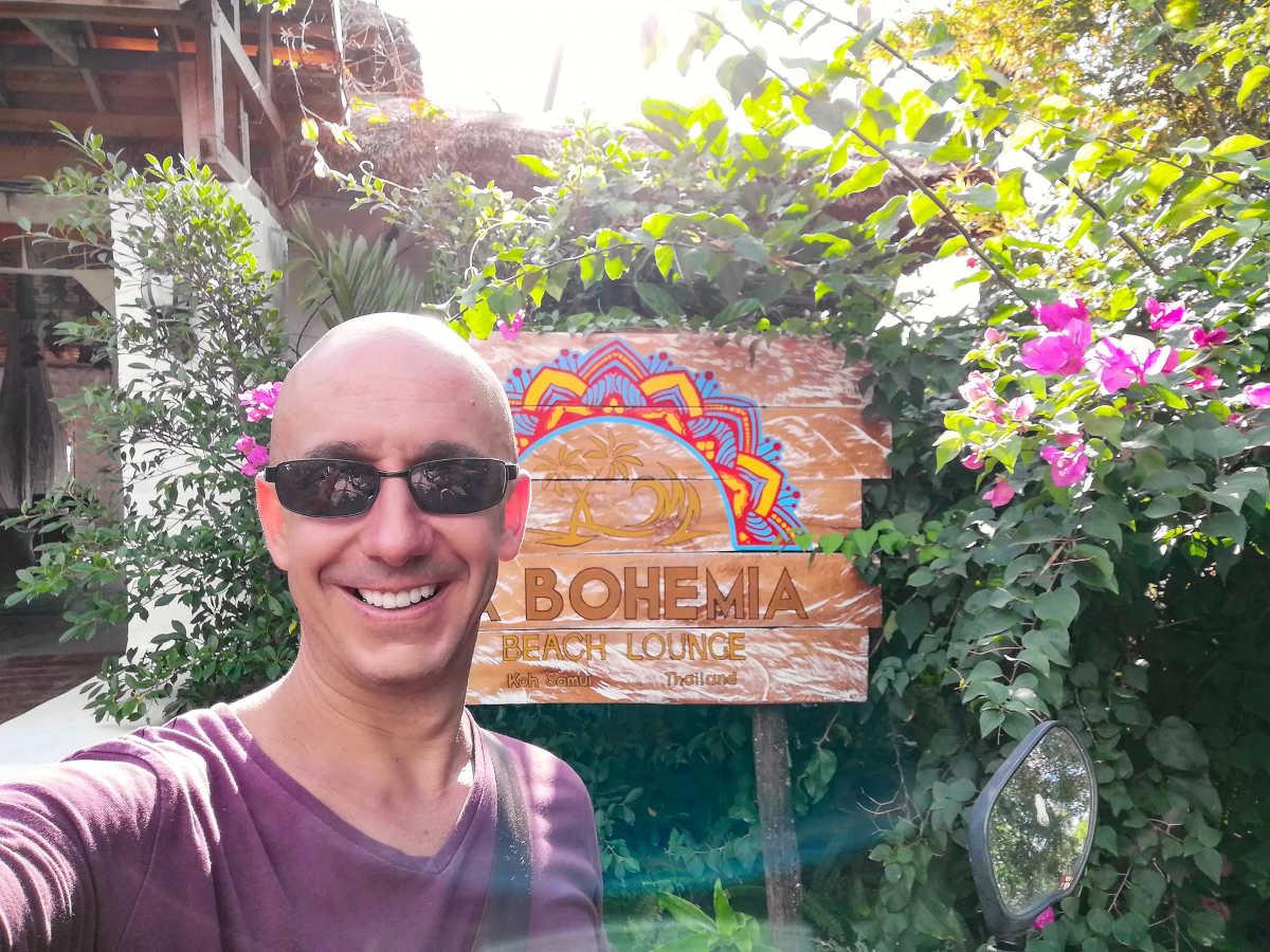 La Bohemia Beach Lounge, Lamai Beach - Koh Samui
