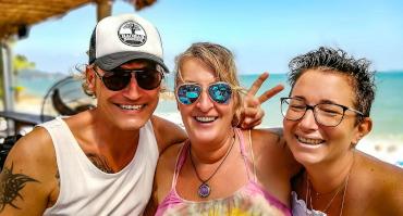 party fete a La Bohemia , Lamai Beach, Koh Samui