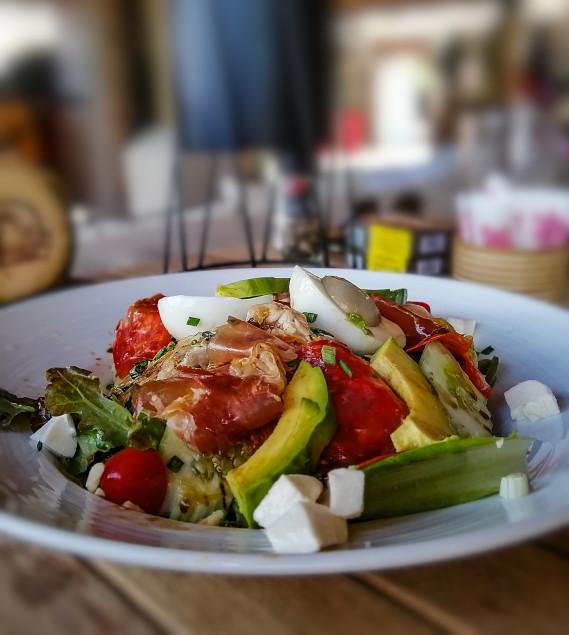 Salade La Bohemia Beach, restaurant a Koh Samui sur Lamai Beach