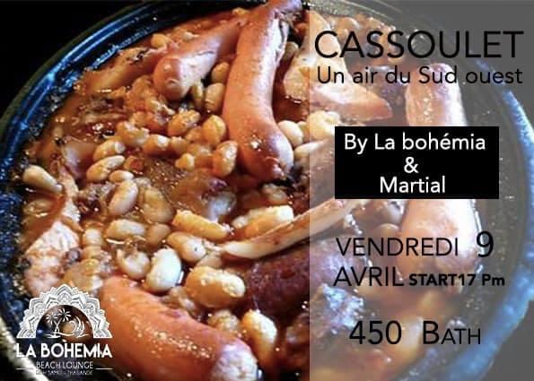 Cassoulet By Martial, la Bohemia Beach, Koh Samui